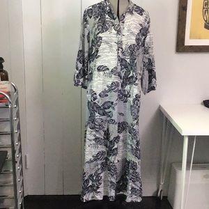 PRIMARK Tropical Floral print dress 10